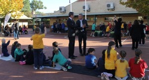 Minister for Education Visit to School