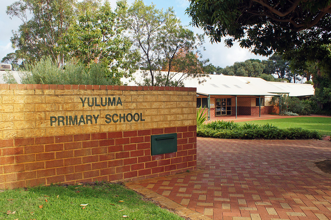 Yuluma Primary School front
