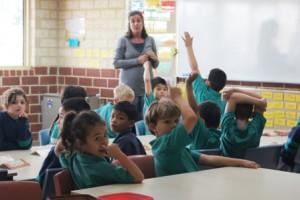 Room 8 Literacy classroom